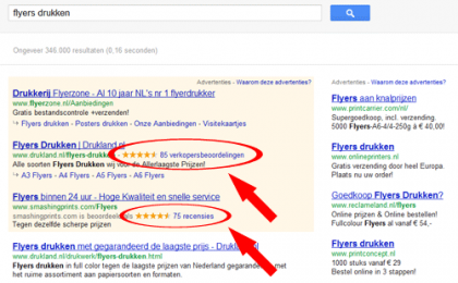 reviews-in-google-advertenties