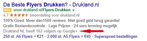 advertentie Drukland
